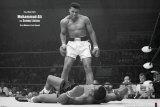 Bokser Muhammad Ali tegen Sonny Liston Foto