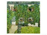 Forsthaus in Weissenbach Am Attersee Impressão giclée por Gustav Klimt