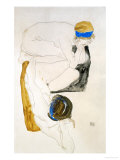 Two Reclining Figures, 1912 Giclee Print by Egon Schiele
