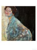Portrait of a Lady in White, 1917/18 Giclée-Druck von Gustav Klimt