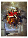 The Apotheosis of Saint Paul Giclee Print by Nicolas Poussin