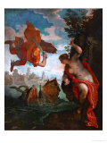 Perseus and Andromeda Giclée-tryk af Paolo Veronese