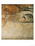 Detail from Leonardo's Last Supper: What Specialists Believed to be a Piece of Bread Giclee-trykk av  Leonardo da Vinci