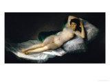 The Nude Maja, circa 1800 Lámina giclée por Francisco de Goya