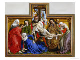 Deposition, circa 1436 Reproduction procédé giclée par Rogier van der Weyden