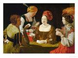 The Cheat Giclee Print by Georges de La Tour