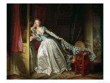 The Stolen Kiss Giclee Print by Jean-Honoré Fragonard