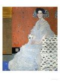 Mrs. Fritza Riedler (1906) Lámina giclée por Gustav Klimt