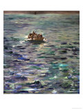 The Escape of Henri Rochefort (1831-1913) Giclee Print by Edouard Manet