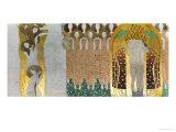 The Beethoven Frieze Giclee Print by Gustav Klimt