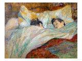 The Bed (Le Lit), 1892 Reproduction procédé giclée par Henri de Toulouse-Lautrec
