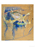 Ballet De Papa Chrysantheme, 1892 Lámina giclée por Henri de Toulouse-Lautrec