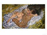 Embrace Giclee Print by Egon Schiele