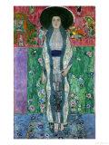 Mrs, Adele Bloch-Bauer II, circa 1912 Giclée-tryk af Gustav Klimt