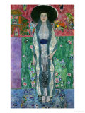 Mrs, Adele Bloch-Bauer II, circa 1912 Gicléetryck av Gustav Klimt