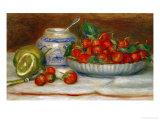 Strawberries, circa 1905 ジクレープリント : ピエール=オーギュスト・ルノワール