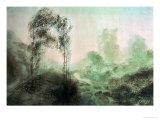 Landscape in the Fog Reproduction procédé giclée par J. M. W. Turner