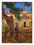 The Hospital of Saint Paul at Saint Remy de Provence, c.1889 Giclee Print by Vincent van Gogh