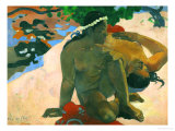 What, You are Jealous Giclee Print by Paul Gauguin