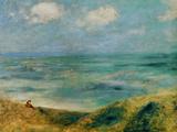 Seashore at Guernsey, 1883 Giclee Print by Pierre-Auguste Renoir