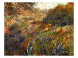 Algerian Landscape, the Gorge of the Femme Sauvage, 1881 Giclée-tryk af Pierre-Auguste Renoir