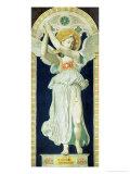 Carton: Saint Raphael, Archangel, 1842 Giclée-Druck von Jean-Auguste-Dominique Ingres