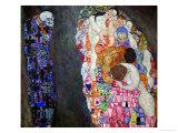 Life and Death (Tod Und Leben) Giclée-Druck von Gustav Klimt