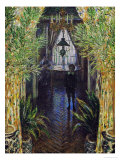 A Corner in the Apartment, in the Center; Jean Monet, the Painter's Son Giclee Print by Claude Monet