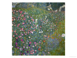 Italian Garden Landscape, 1917 Impressão giclée por Gustav Klimt