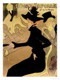 Le Divan Japonais, 1892 Lámina giclée por Henri de Toulouse-Lautrec