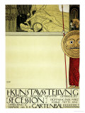 Poster for the First Exhibition of the Secession, 1897 Giclée-Druck von Gustav Klimt