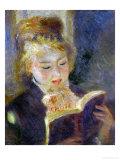 The Reader (La Liseuse), 1874-1876 Giclee Print by Pierre-Auguste Renoir