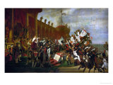 The Oath of the Army after the Distribution of the Eagles on the Champs De Mars Giclee Print by Jacques-Louis David