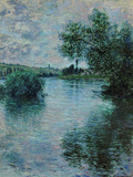 The Seine Near Vetheuil, 1879 Giclée-Druck von Claude Monet