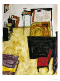The Artist's Room in Neulengbach, 1911 Giclee Print by Egon Schiele