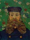 Portrait of the Postman Joseph Roulin, c.1889 Gicléetryck av Vincent van Gogh