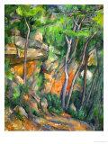 In the Park at Chateau Noir, 1898-1900 Reproduction procédé giclée par Paul Cézanne