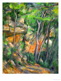 In the Park at Chateau Noir, 1898-1900 Giclee Print by Paul Cézanne