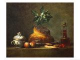 La Brioche Giclee Print by Jean-Baptiste Simeon Chardin