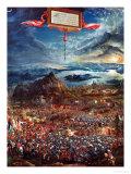 The Battle of Issos, November 333 BCE Giclee Print by Albrecht Altdorfer