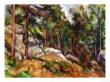 The Rocks in the Park of the Chateau Noir, 1898-1899 Giclée-Druck von Paul Cézanne