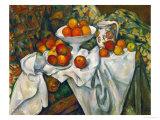 Apples and Oranges Giclée-vedos tekijänä Paul Cézanne