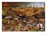 Triumph of Death, circa 1562 Reproduction procédé giclée par Pieter Bruegel the Elder