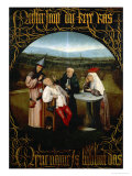 The Cure for Folly Giclée-tryk af Hieronymus Bosch
