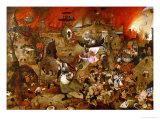 Dulle Griet ('Mad Meg') Gicléetryck av Pieter Bruegel the Elder