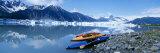 Kayaks by the Side of a River, Alaska, USA Photographic Print