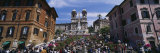 Tourist on Steps, Spanish Steps, Rome, Italy Photographic Print by  Panoramic Images