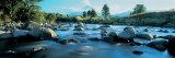 Rocks in the River, Mount Taranaki, Taranaki, North Island, New Zealand Fotografisk trykk av Panoramic Images,