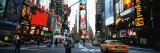 Traffic on a Road, Times Square, New York, USA Fotografisk trykk av Panoramic Images,