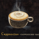 Cappuccino Prints by G.p. Mepas